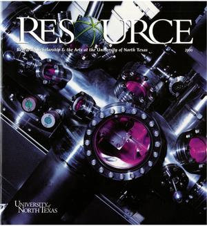 Primary view of object titled 'ReSource, Volume 12, 2000'.