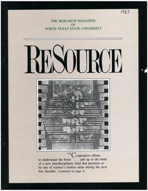 Primary view of object titled 'ReSource, Volume 4, Number 1, [1987]'.