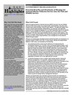 Government Reorganization: Potential Benefits and Drawbacks