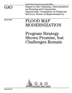 Primary view of object titled 'Flood Map Modernization: Program Strategy Shows Promise, but Challenges Remain'.