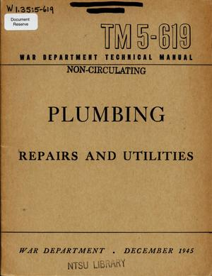 Primary view of object titled 'Plumbing : repairs and utilities'.