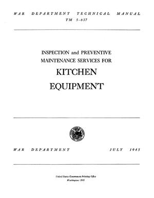 Thumbnail image of item number 3 in: 'Inspection and Preventive Maintenance Services for Kitchen