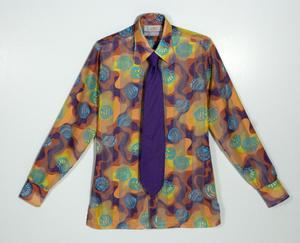 Primary view of object titled 'Men's Shirt'.