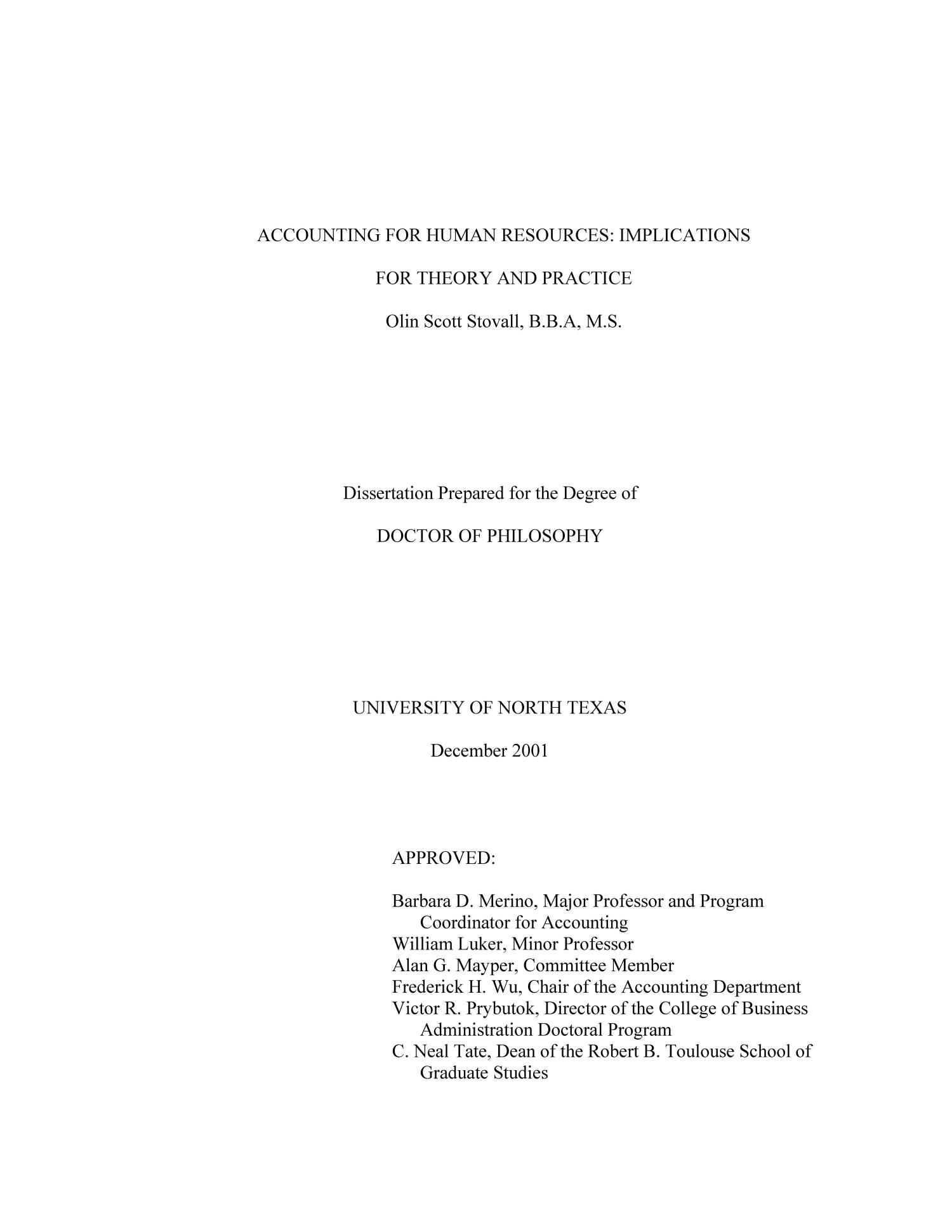 Phd thesis on hrm practices