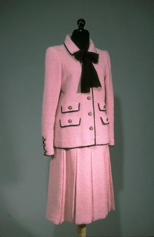 Primary view of object titled 'Ensemble - Jacket, Skirt and Blouse'.