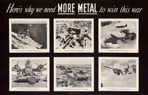 Primary view of object titled 'Here's why we need more metal to win this war.'.