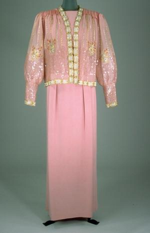 Primary view of object titled 'Ensemble - Jacket, Skirts and Blouse'.
