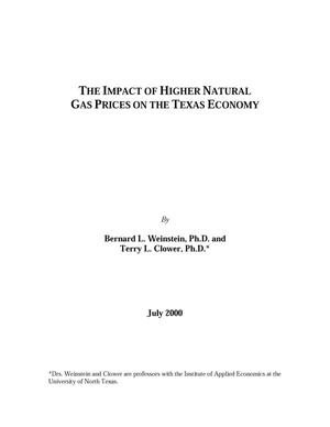 Primary view of object titled 'The Impact of Higher Natural Gas Prices on the Texas Economy'.