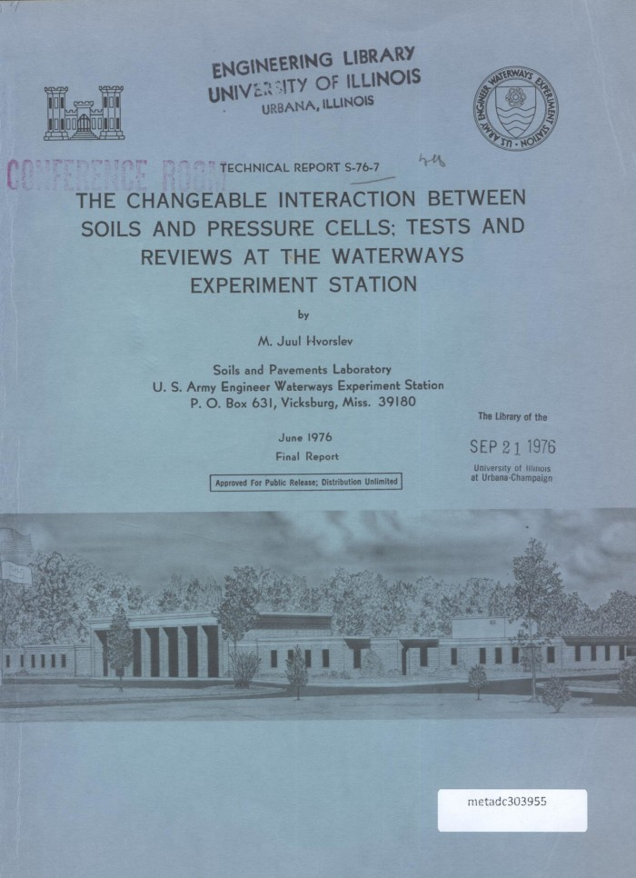 Tests Com Reviews >> The Changeable Interaction Between Soils And Pressure Cells