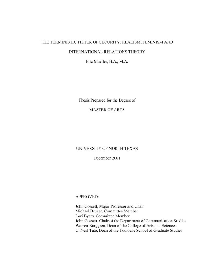 University of Canterbury Political Science Theses