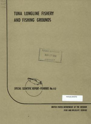 Primary view of object titled 'Tuna Longline Fishery and Fishing Grounds'.
