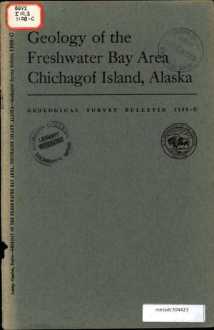 Primary view of object titled 'Geology of the Freshwater Bay Area, Chichagof Island, Alaska'.
