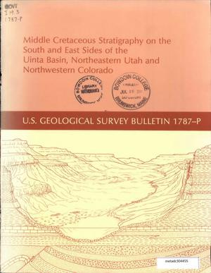 Primary view of object titled 'Middle Cretaceous Stratigraphy on the South and East Sides of the Uinta Basin, Northeastern Utah and Northwestern Colorado'.