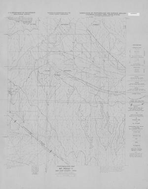 Primary view of object titled 'Photogeologic Map, Mt. Peale-7 Quadrangle, San Juan County, Utah'.
