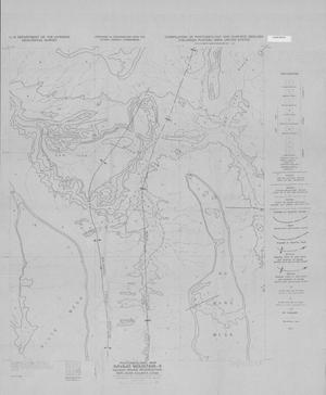 Primary view of object titled 'Photogeologic Map, Navajo Mountain-9 Quadrangle, Navajo Indian Reservation, San Juan County, Utah'.