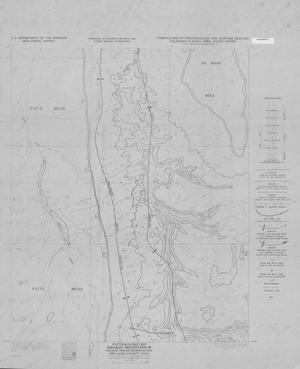 Primary view of object titled 'Photogeologic Map, Navajo Mountain-16 Quadrangle, Navajo Indian Reservation, San Juan County, Utah'.