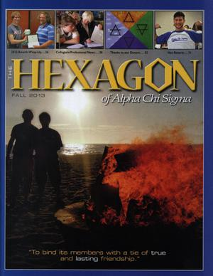 The Hexagon, Volume 104, Number 3, Fall 2013