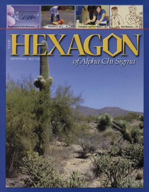 Primary view of object titled 'The Hexagon, Volume 104, Number 1, Spring 2013'.