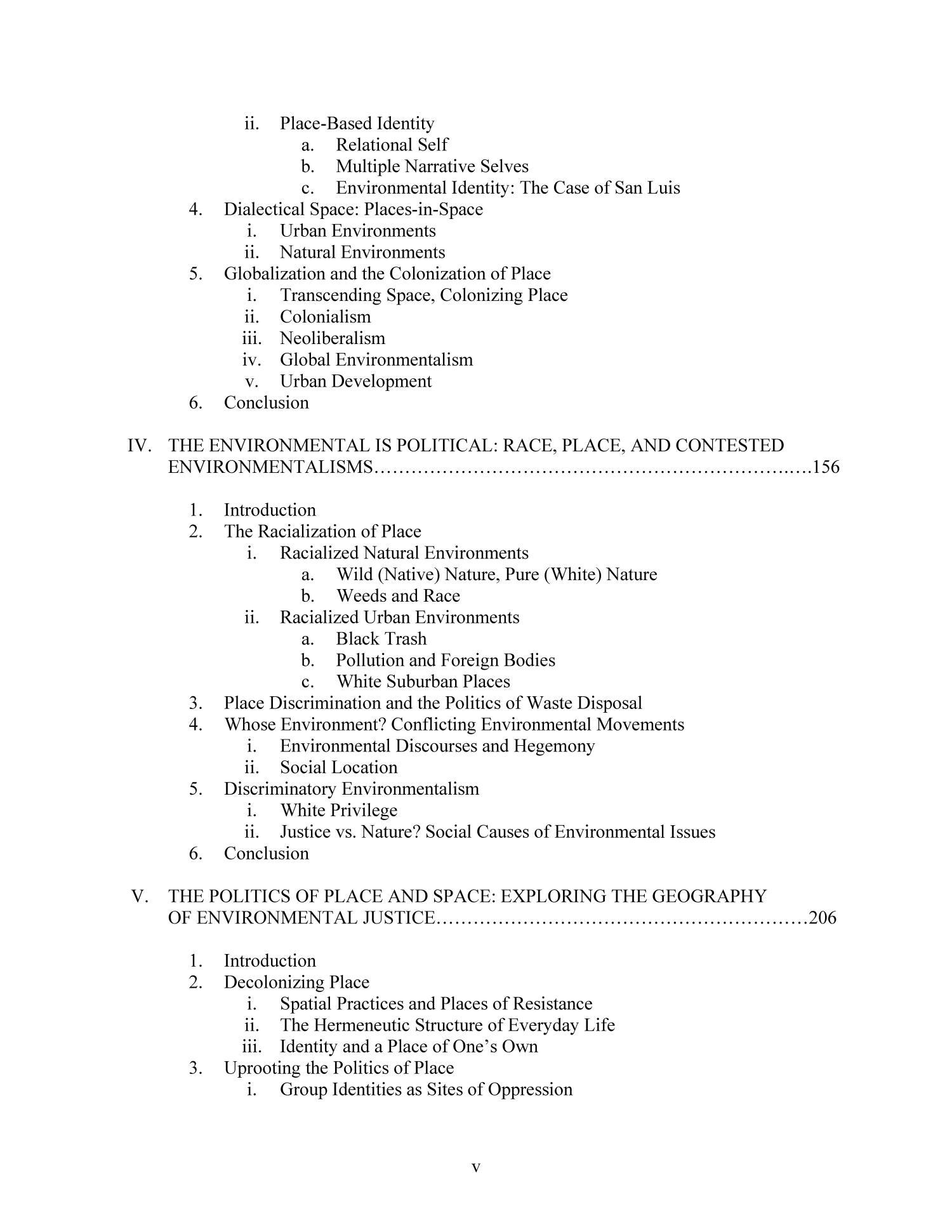 Environmental politics phd thesis