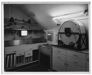 Primary view of object titled '[Developing Room]'.