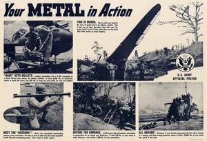 Primary view of object titled 'Your metal in action.'.