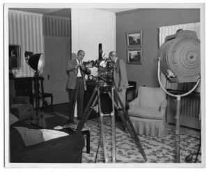 Primary view of object titled '[Princeton Film Center Crew]'.