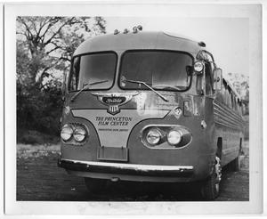 Primary view of object titled '[Princeton Film Center Bus in Venezuela]'.