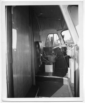 Primary view of object titled '[Front Door and Driver's Seat]'.