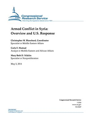 Armed Conflict in Syria: Overview and U.S. Response