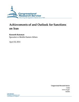 Achievements of and Outlook for Sanctions on Iran
