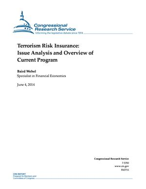Terrorism Risk Insurance: Issue Analysis and Overview of Current Program