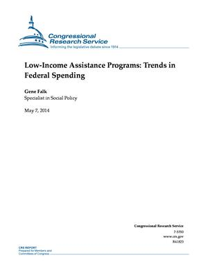 Low-Income Assistance Programs: Trends in Federal Spending