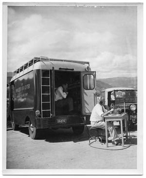 Primary view of object titled '[Mobile Sound Unit and Crew]'.