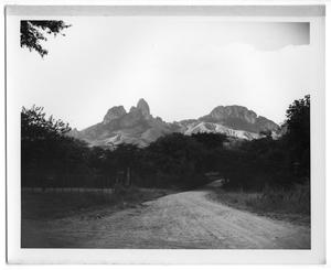 Primary view of object titled '[Road and View of Mountain]'.