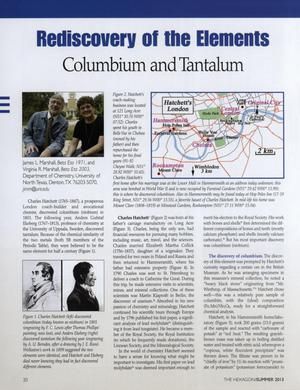 Rediscovery of the Elements: Columbium and Tantalum