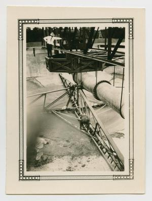 Primary view of object titled '[Men Working On a Pipeline Installation]'.