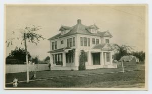 Primary view of object titled '[Stately White House]'.