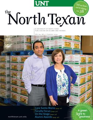 The North Texan, Volume 64, Number 2, Summer 2014