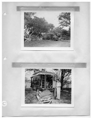 Primary view of object titled '[Shady Campsite] and [Sorting Gear in Shady Campsite]'.