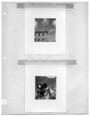 Primary view of object titled '[Filming from Rooftop] and [Filming from Mountaintop]'.