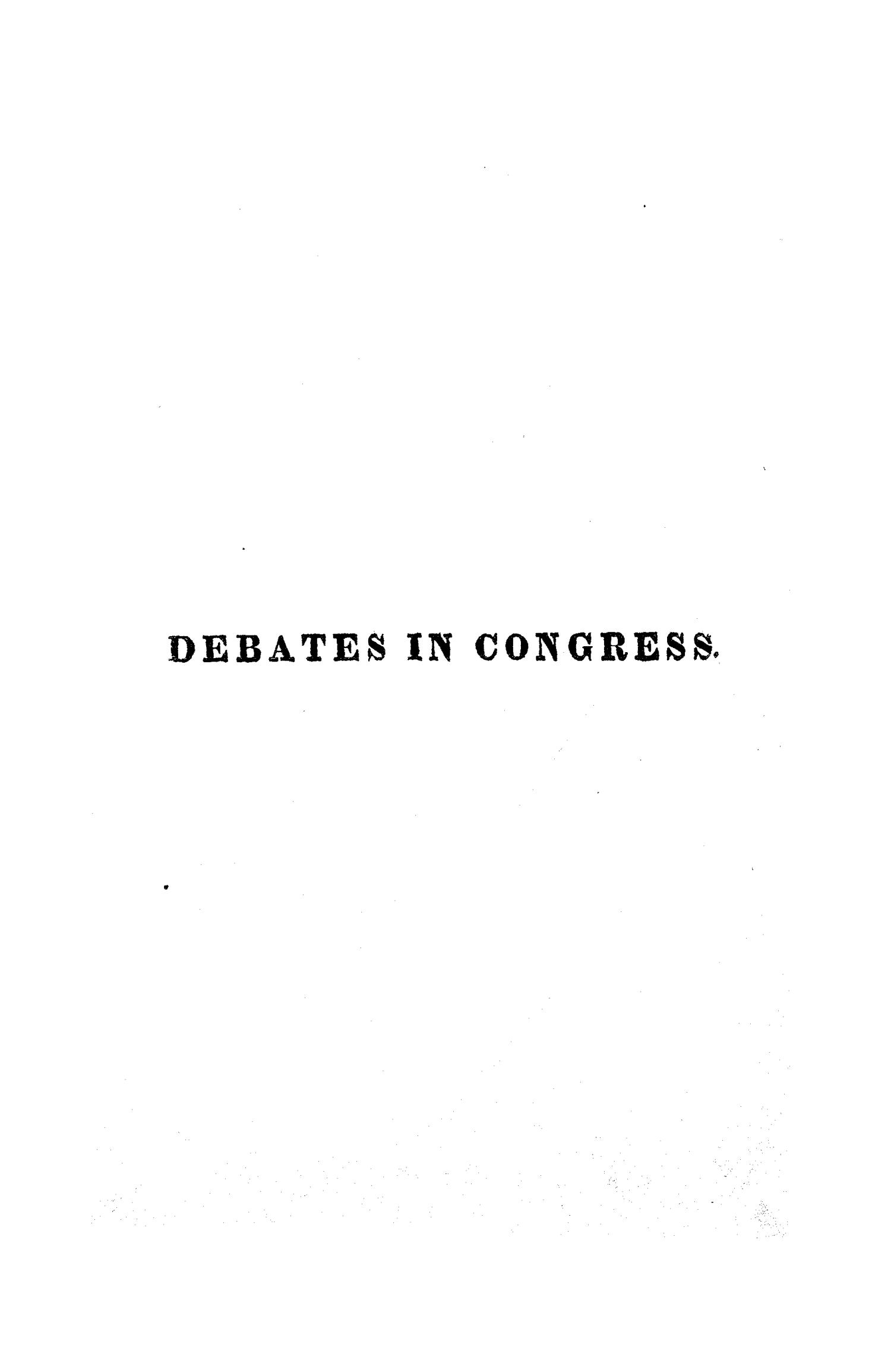 Register of Debates in Congress, Comprising the Leading Debates and Incidents of the Second Session of the Nineteenth Congress                                                                                                      None