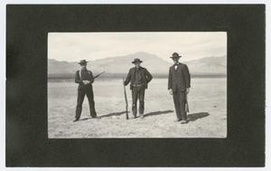 Primary view of Hunters with Kill Somewhere in West Texas, 1915