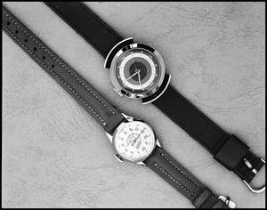Primary view of object titled '[2 Watches, Commercial Job]'.