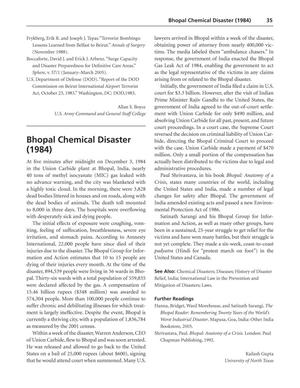 Bhopal Chemical Disaster