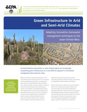 Green Infrastructure in Arid and Semi-Arid Climates