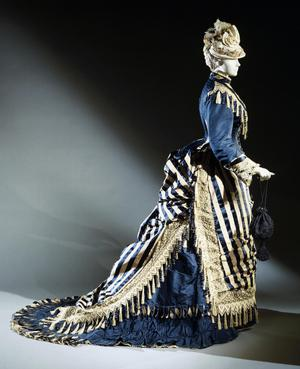 Primary view of object titled 'Woman's Two-piece Dress: Jacket and Skirt'.