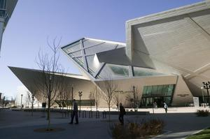 Primary view of object titled 'Frederic Hamilton Building, Denver Art Museum, Civic Center Cultural Complex'.
