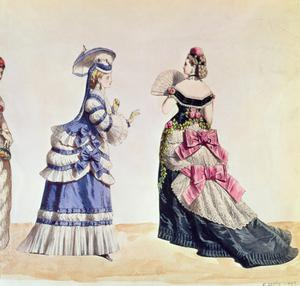 Primary view of object titled 'Fashion Designs for Women'.