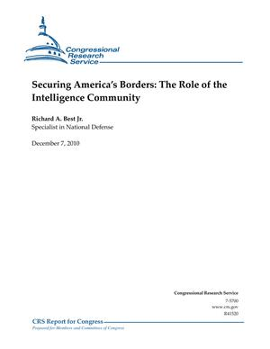 Securing America's Borders: The Role of the Intelligence Community
