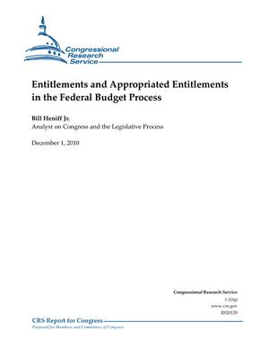 Entitlements and Appropriated Entitlements in the Federal Budget Process